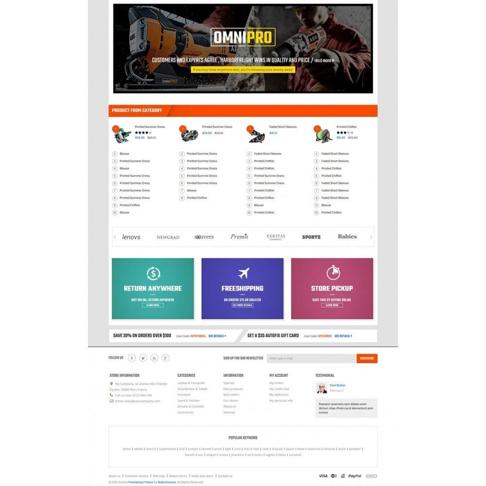 theme - Autos & Motorräder - Autofix - Tools Store - 3