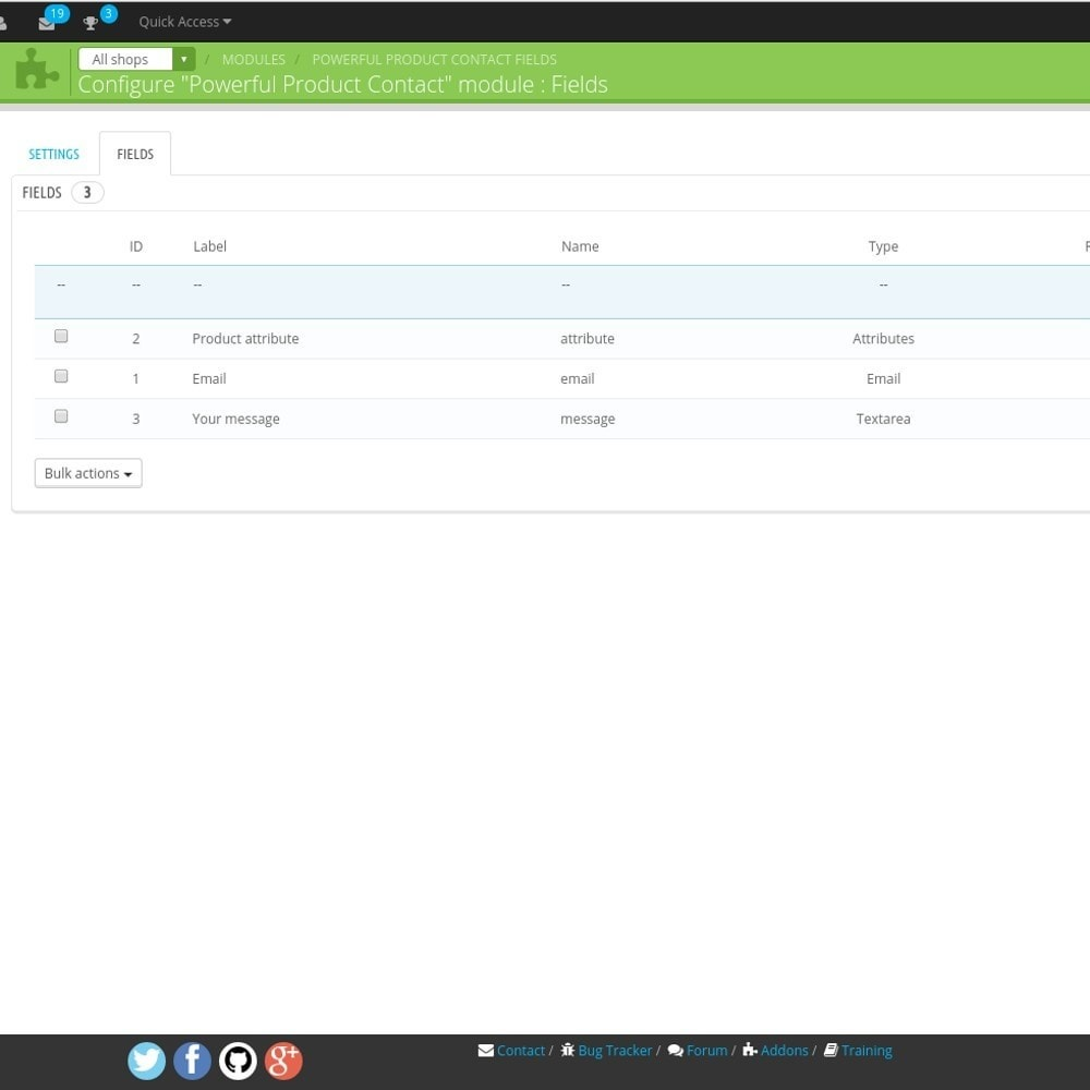 module - Form di contatto & Questionari - Powerful Product Contact - 5