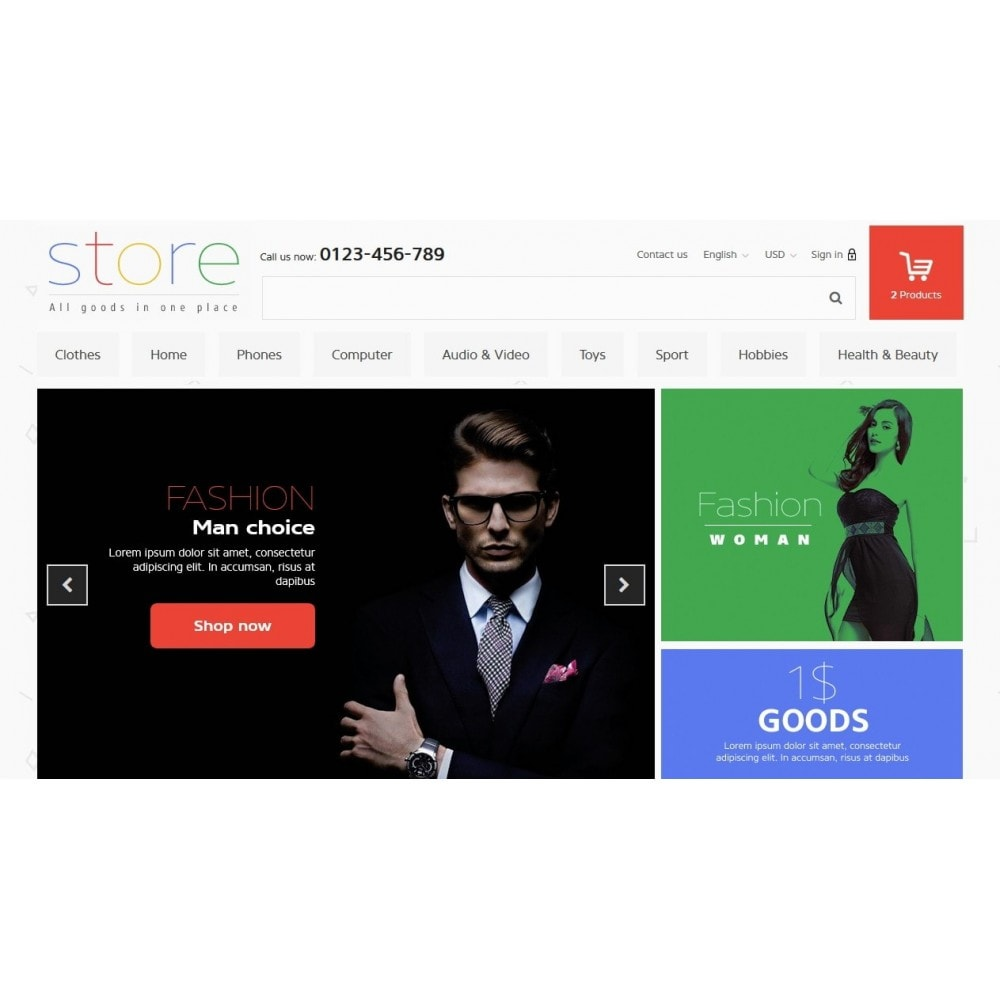 theme - Elettronica & High Tech - All Goods Strore - 3