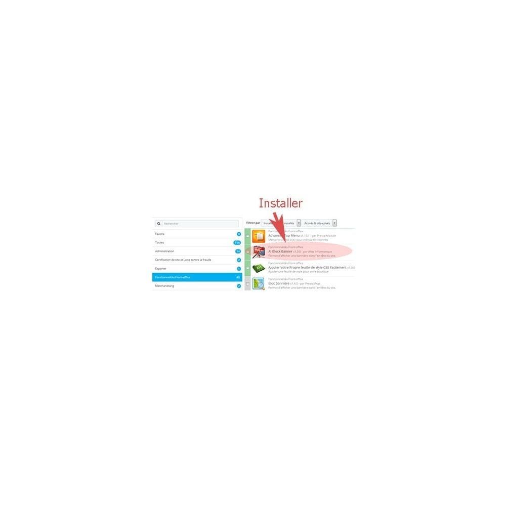 module - Blocs, Onglets & Bannières - Gestion multi bannières par date : aibanner - 1
