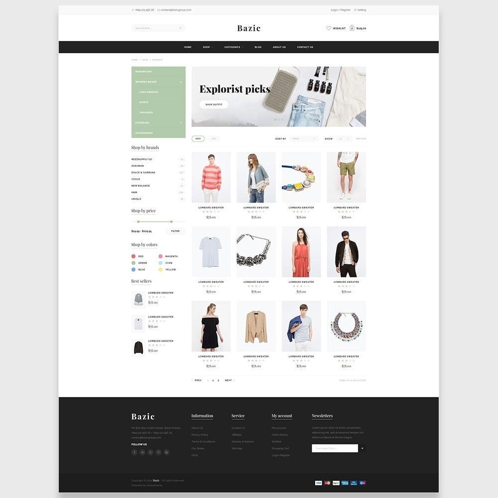 theme - Мода и обувь - Ap Bazic - 4