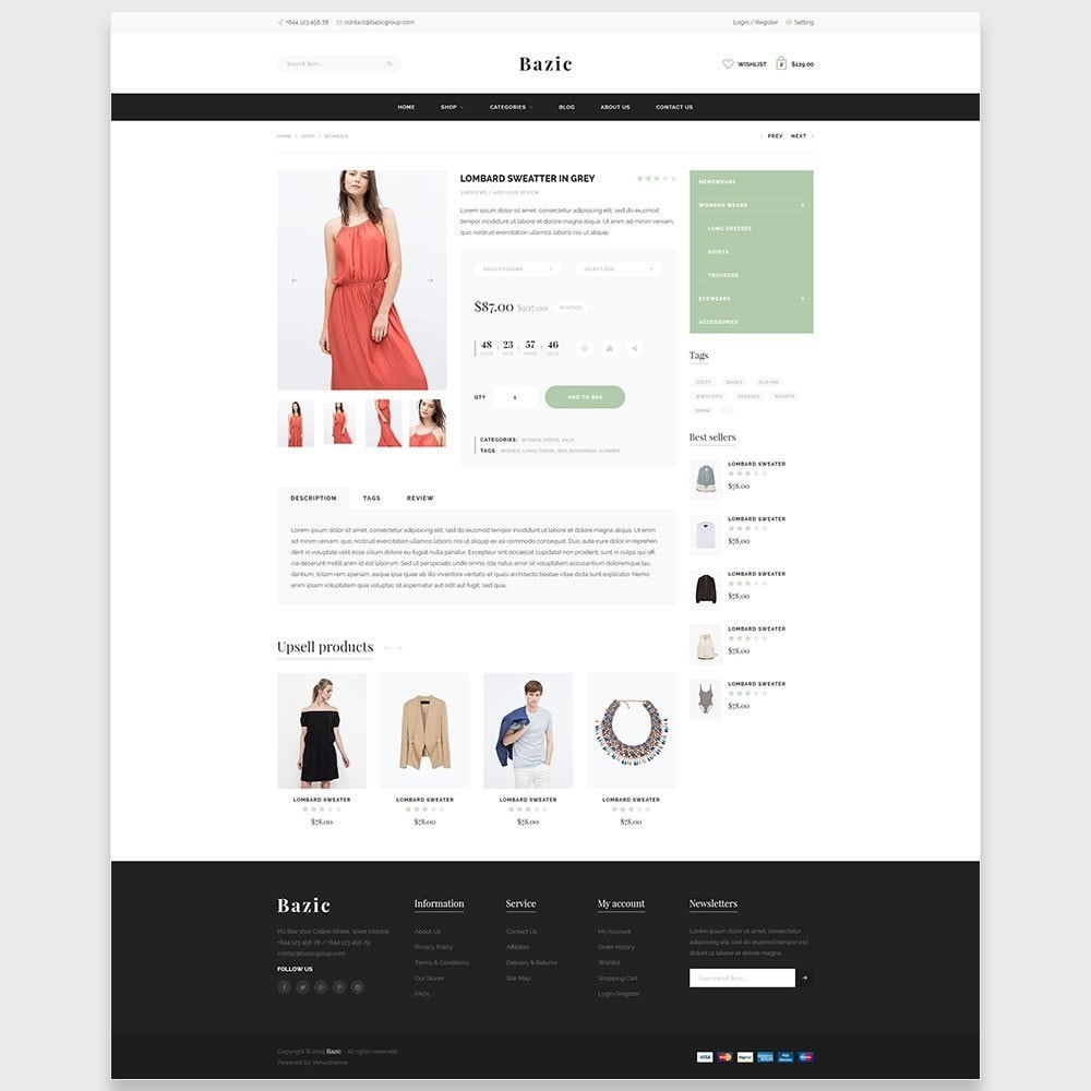 theme - Мода и обувь - Ap Bazic - 5