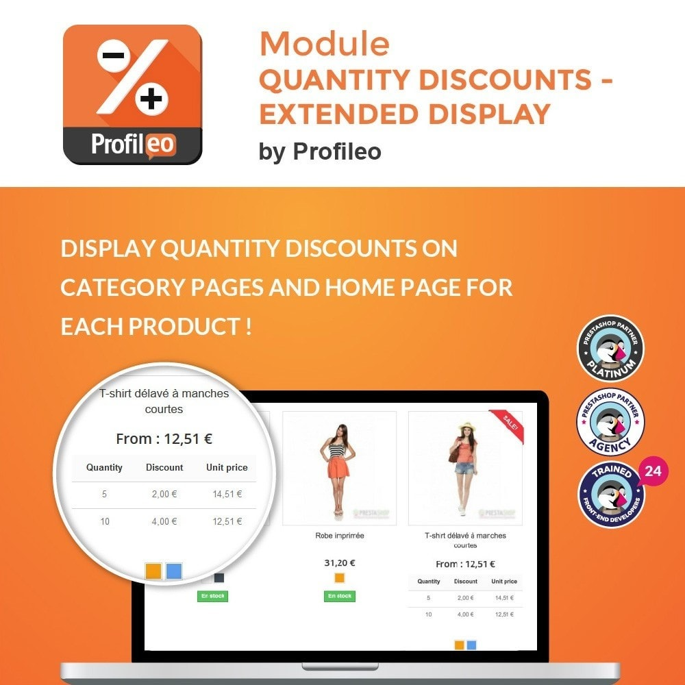 module - Price Management - Quantity discounts - extended display - 1