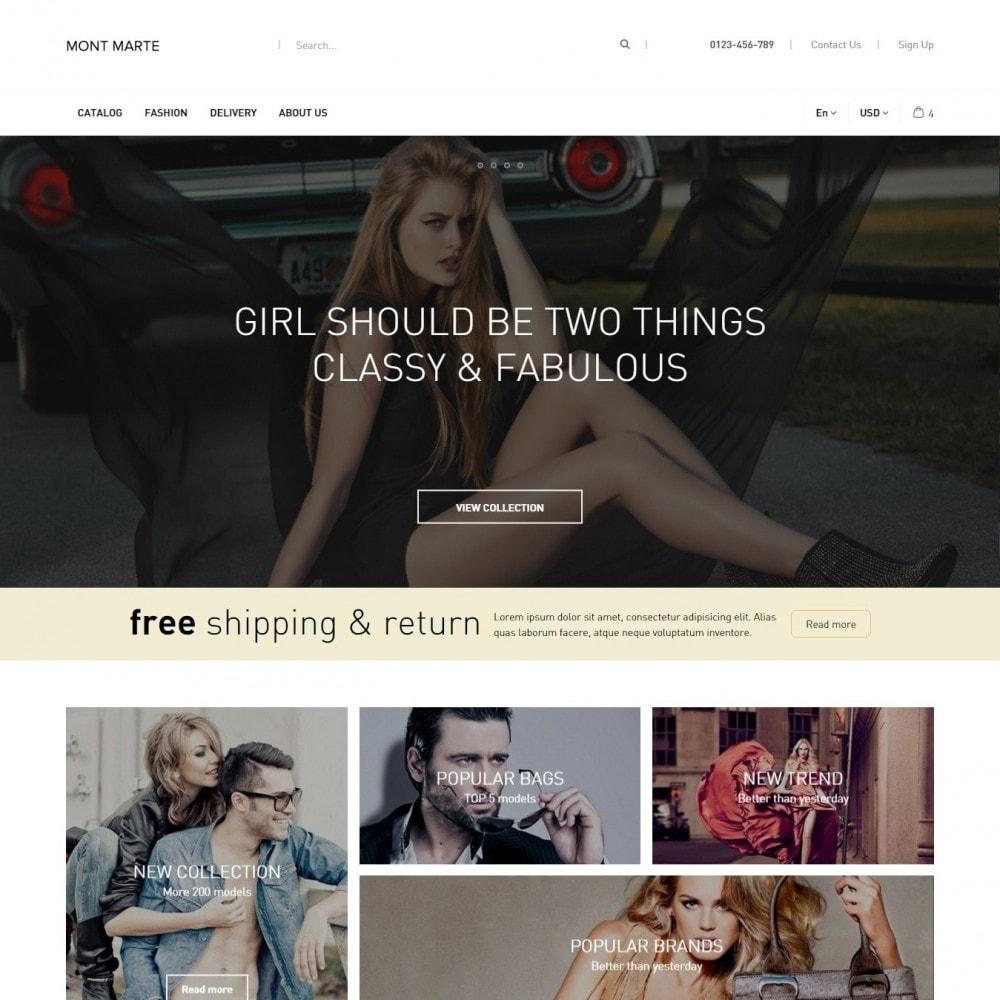 theme - Мода и обувь - Mont Marte Магазин Одежды - 1