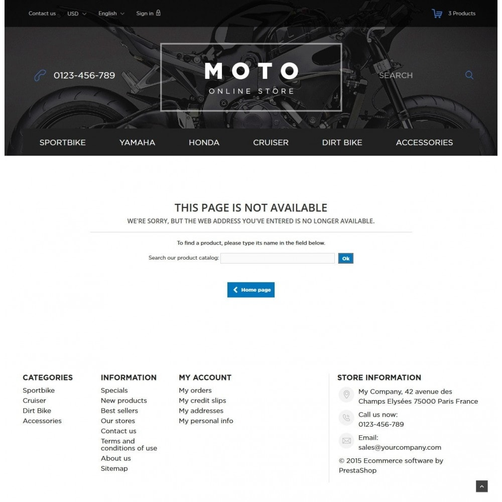 theme - Automotive & Cars - Moto and Bikes Online store 1.6 Responsive - 9
