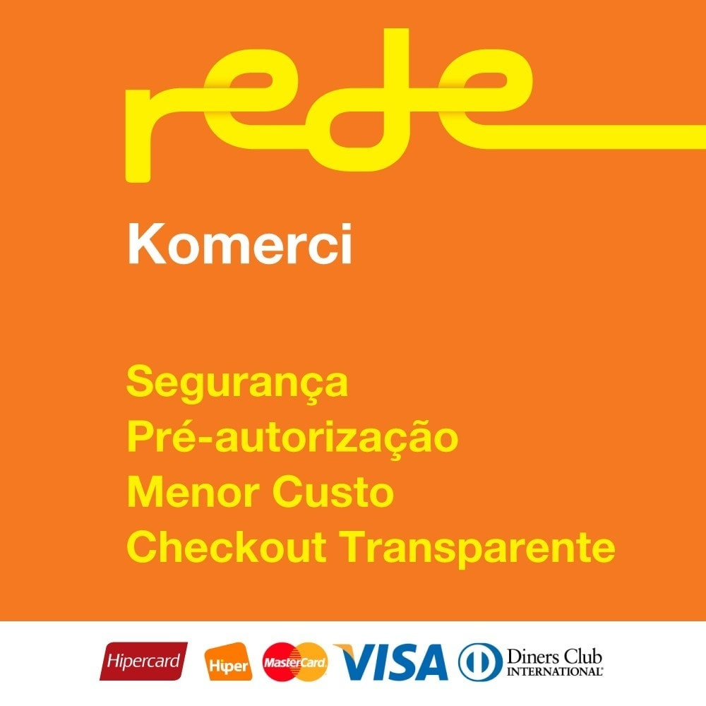 module - Payment by Card or Wallet - Brazilian Payment by Rede Card - Komerci - 1