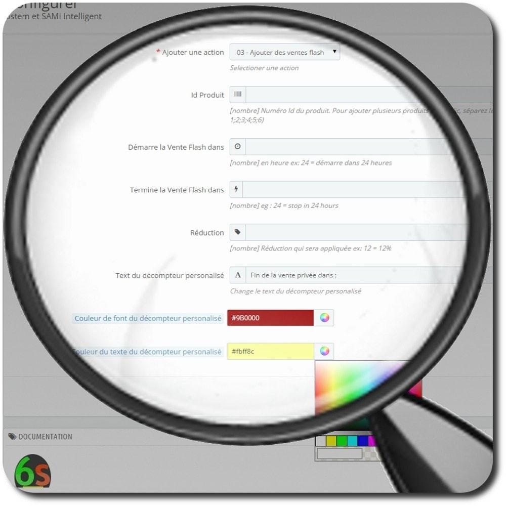 module - Ventes Flash & Ventes Privées - Déclenche la vente instantanément - 4
