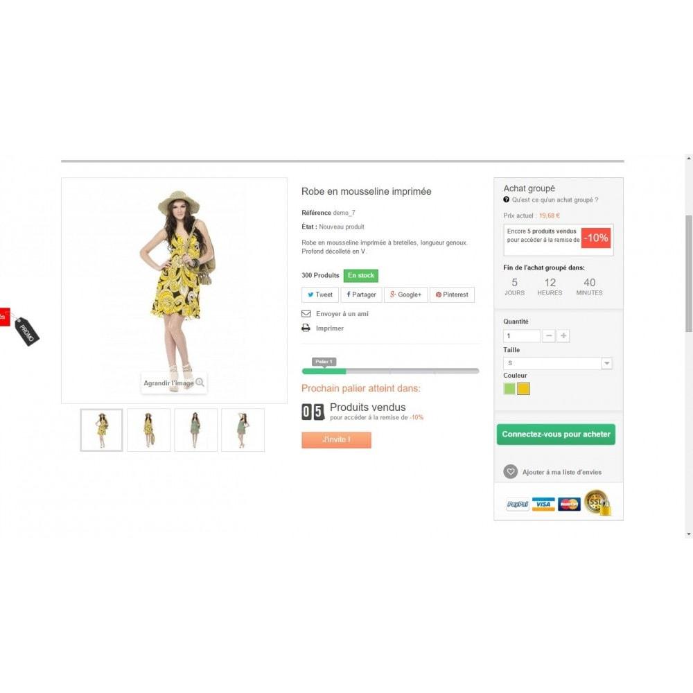 module - Promotions & Cadeaux - Ventes Groupées - 4