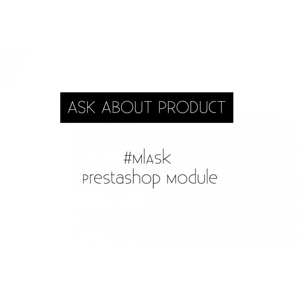 module - Altre informazioni & Product Tab - Ml Ask about product - 1