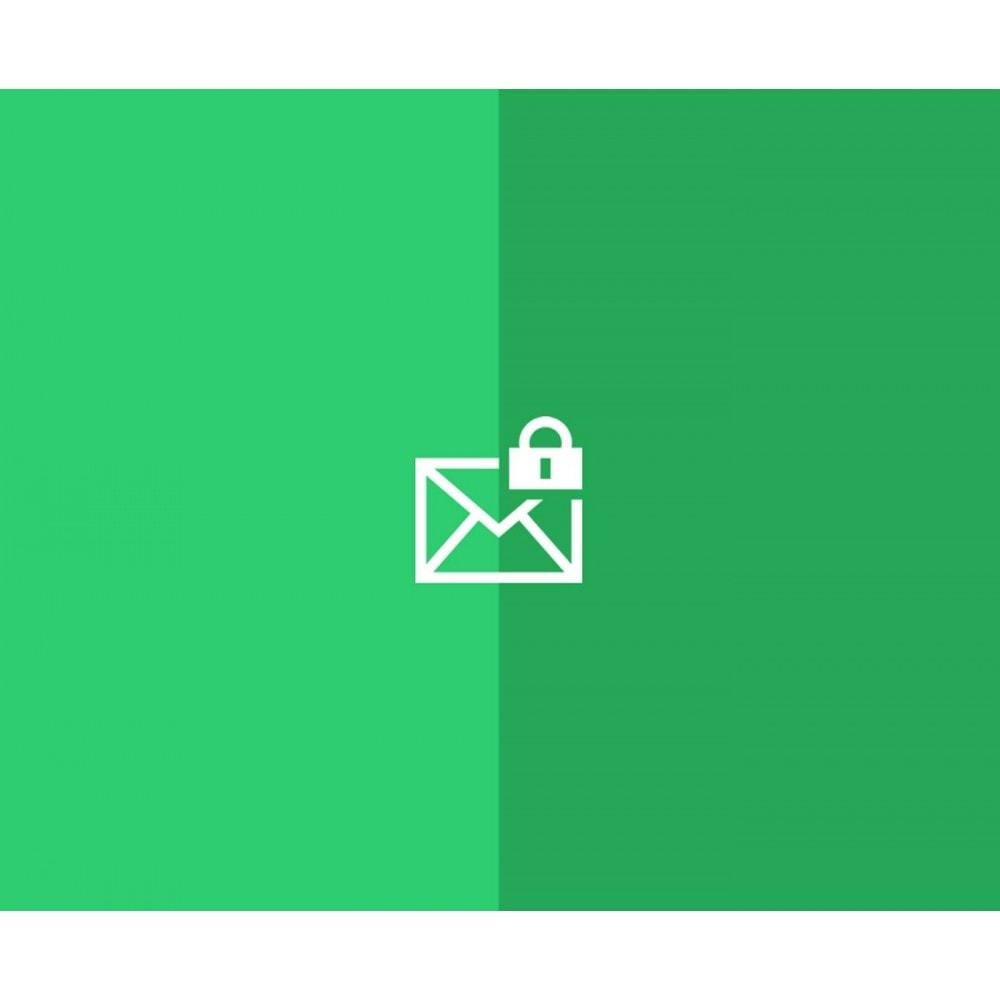 module - E-mails & Notifications - Notifications de connexion back-office - 1