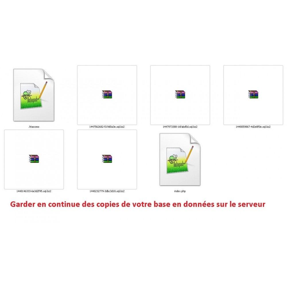 bundle - Les offres du moment - Faites des économies ! - BACKUP PACK :  AUTO BACKUP + DATABASE AUTO BACKUP - 7