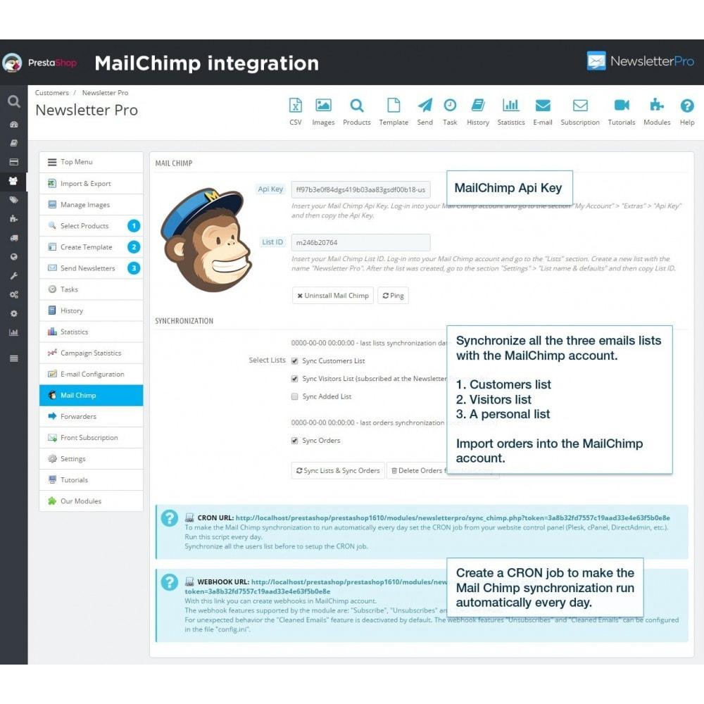 module - Newsletter & SMS - Newsletter Pro - 16
