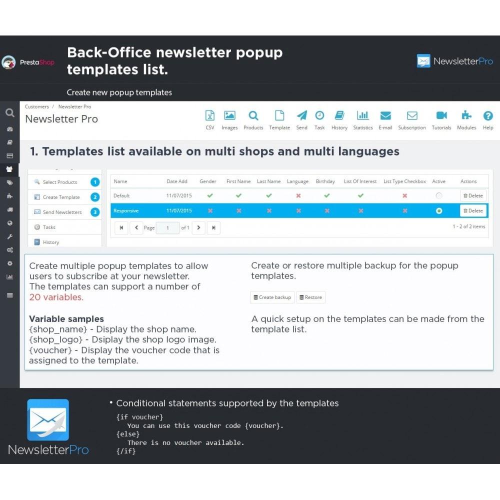 module - Рассылка новостей и SMS - Newsletter Pro - 28