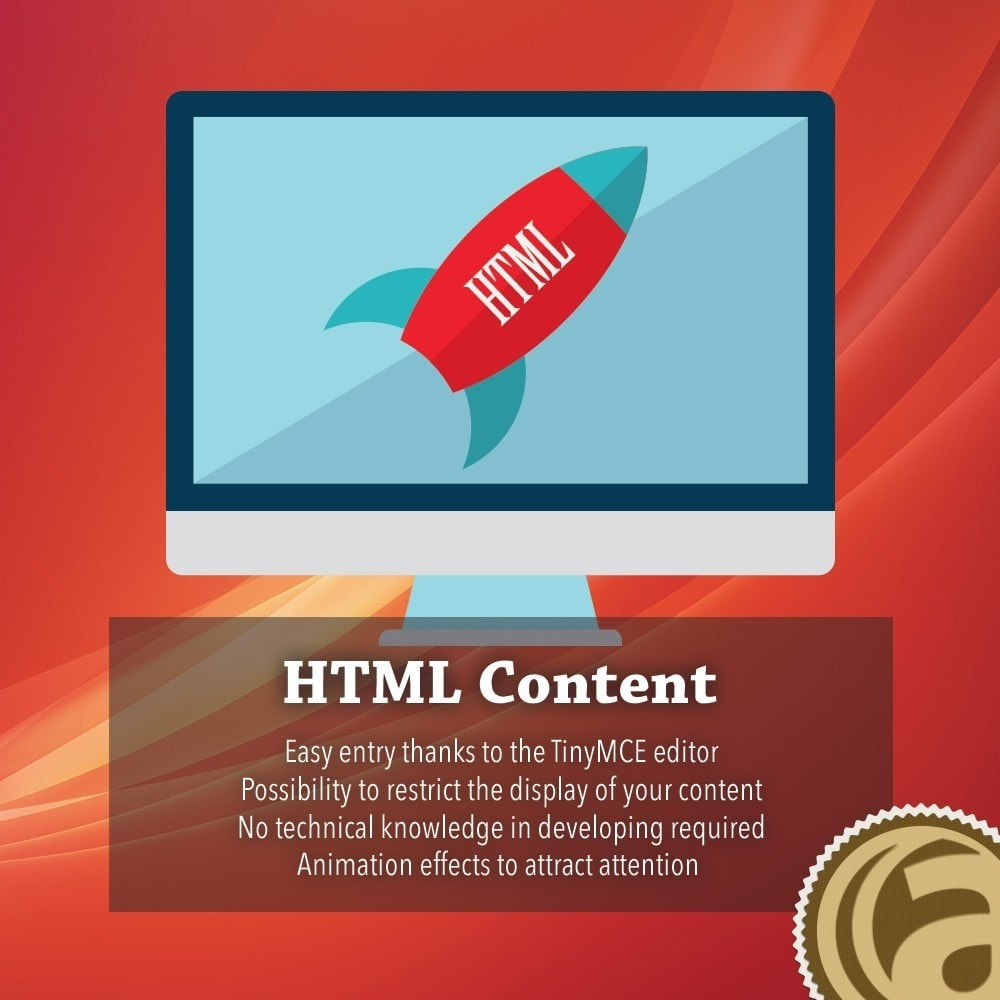 module - Administrative Tools - HTML Content - 1