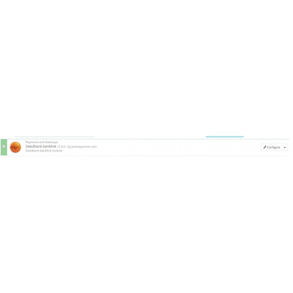 module - Płatność kartą lub Płatność Wallet - Swedbank banklink Lithuania (Lietuva) - 1