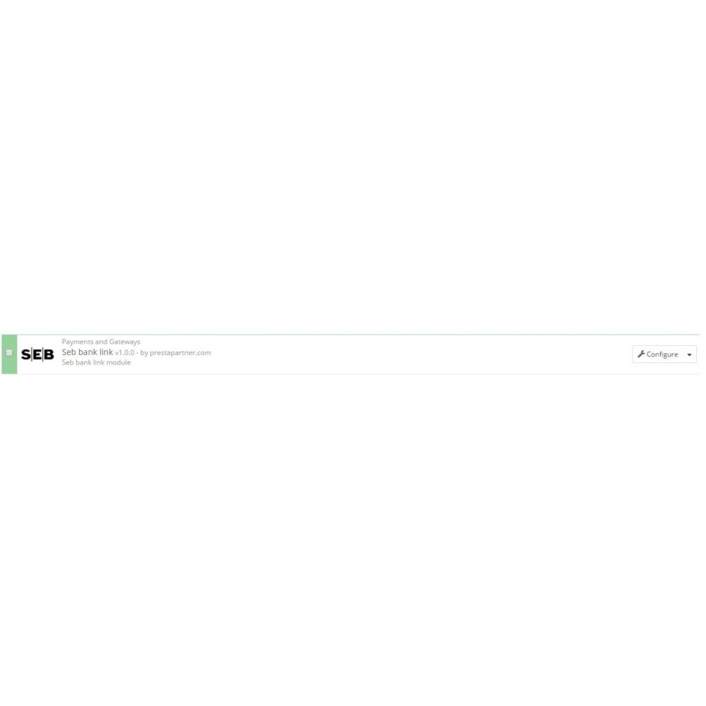 module - Pagamento con Carta di Credito o Wallet - SEB banklink Lithuania (Lietuva) - 1