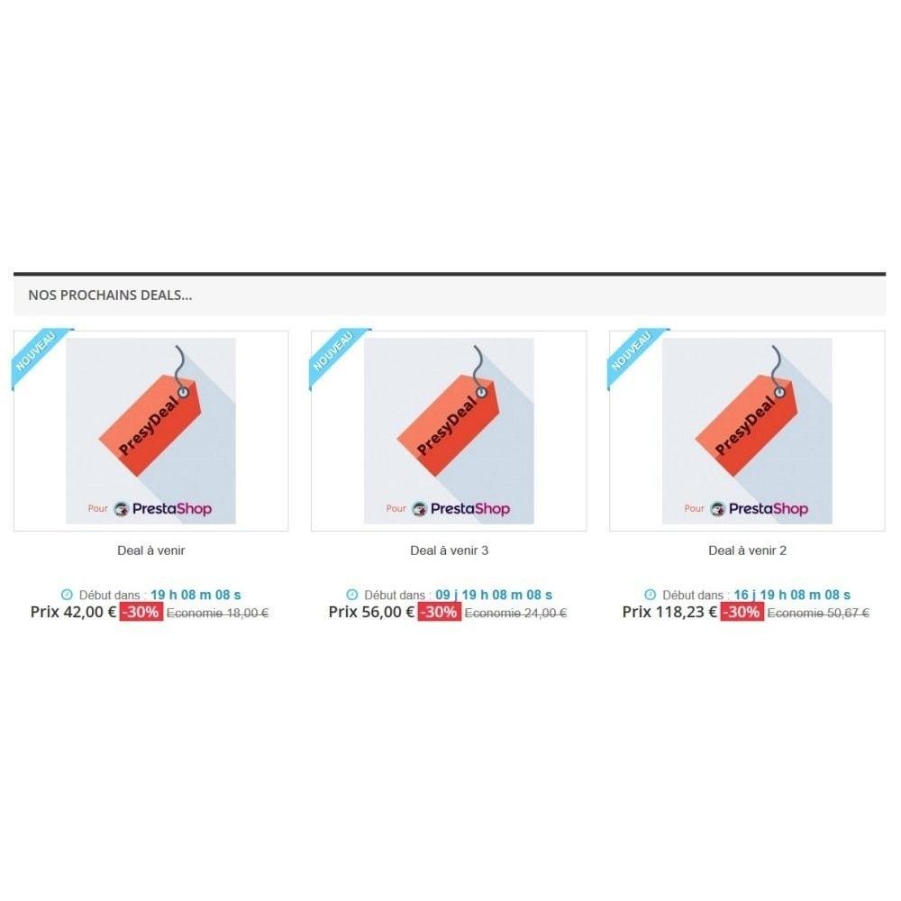 module - Uitverkoop & Besloten verkoop - PresyDeal - 2