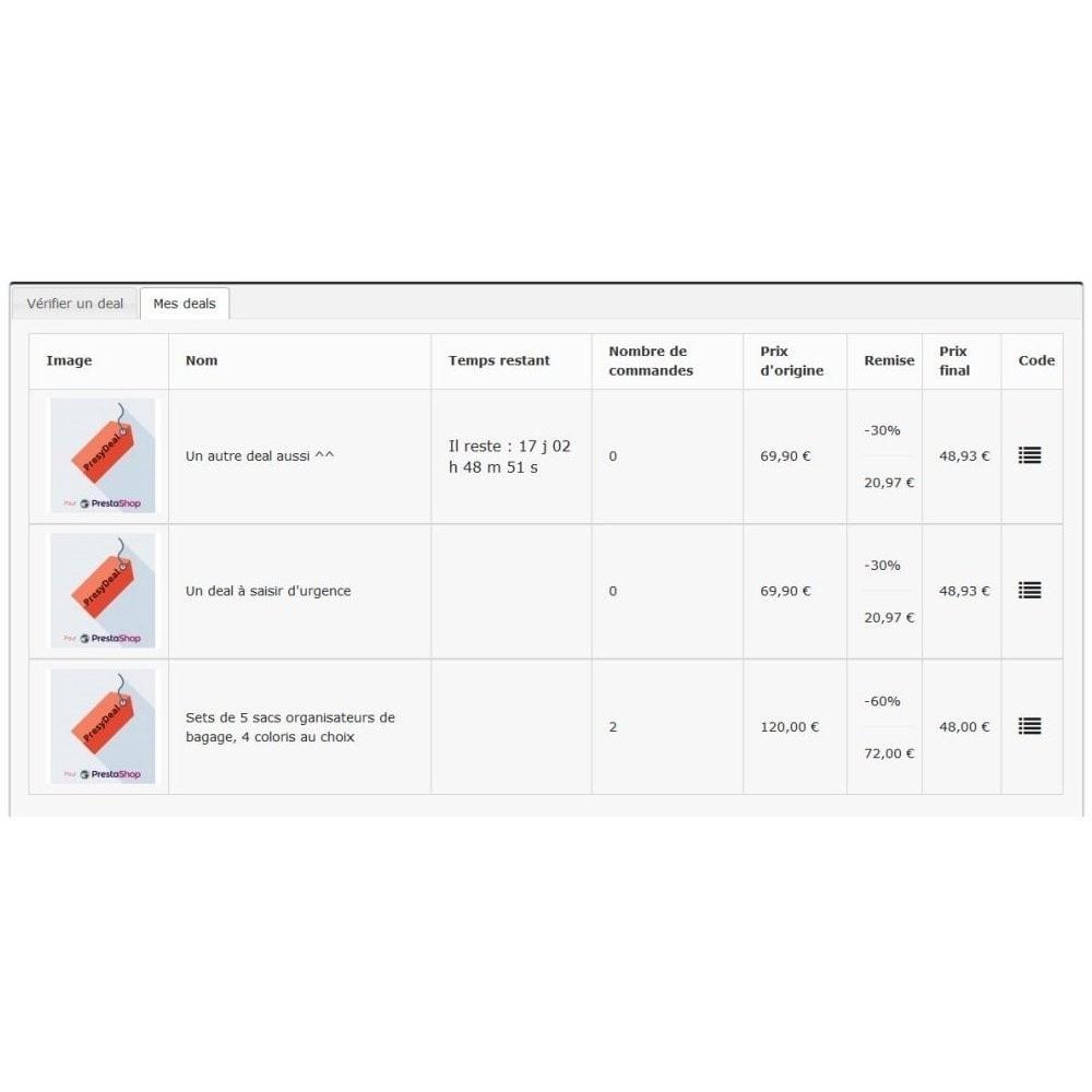module - Vendas Privadas & Vendas Ultrarrápidas - PresyDeal - 6