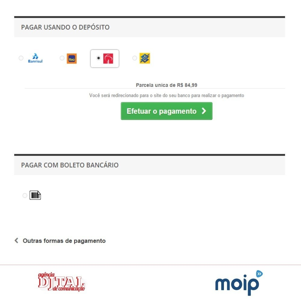 module - Creditcardbetaling of Walletbetaling - Moip Transparent Checkout - 6