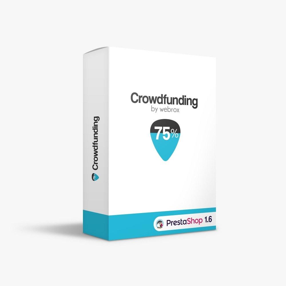 module - Autres moyens de paiement - Crowdfunding - 1