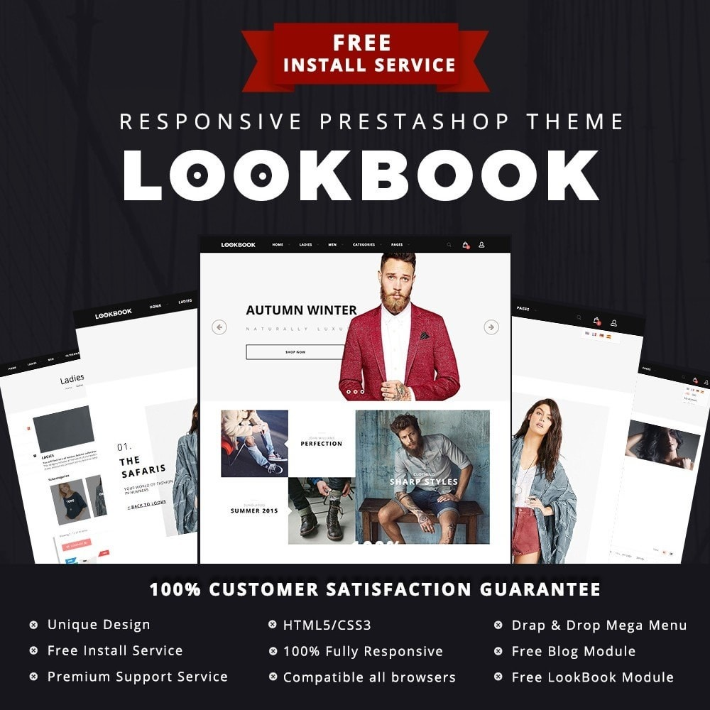 theme - Moda & Obuwie - LookBook Fashion Responsive - 1