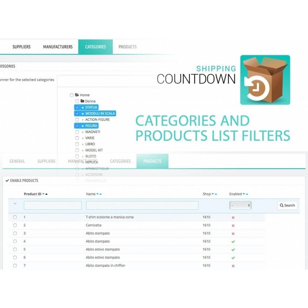 module - Data di Consegna - Banner Spedizione e consegna con Countdown - 5