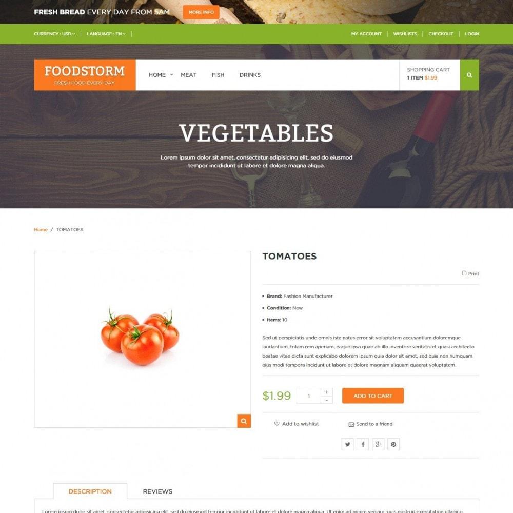 theme - Lebensmittel & Restaurants - Lebensmittelgeschäft - 4