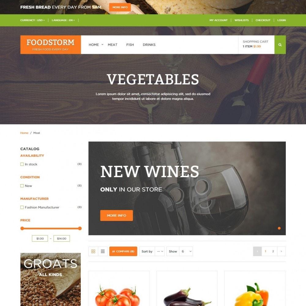 theme - Żywność & Restauracje - Sklep Spożywczy - 3