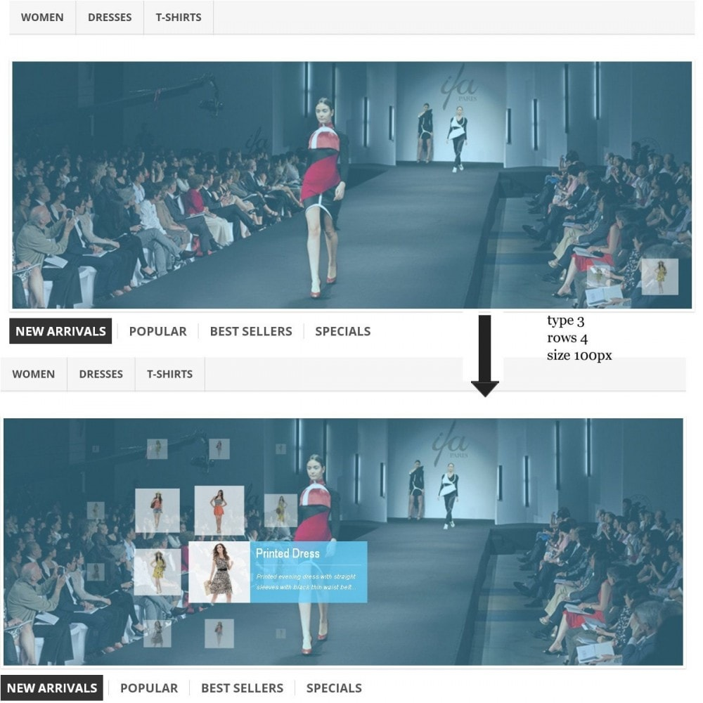 module - Sliders & Galerias - Proximity Effect - Perfect Main Page Presentation - 2