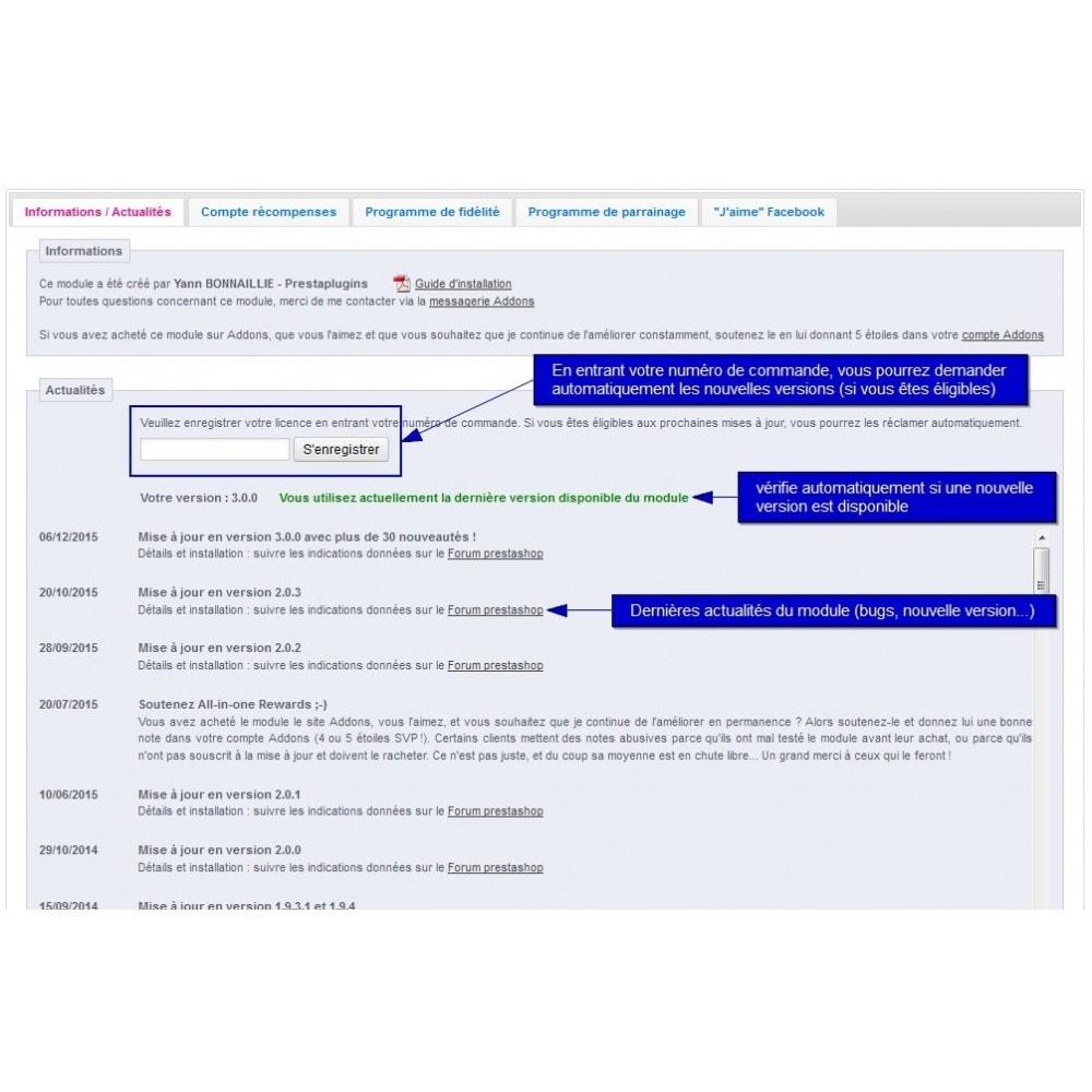 module - Fidélisation & Parrainage - All-in-one Rewards: fidélité parrainage affiliation... - 17