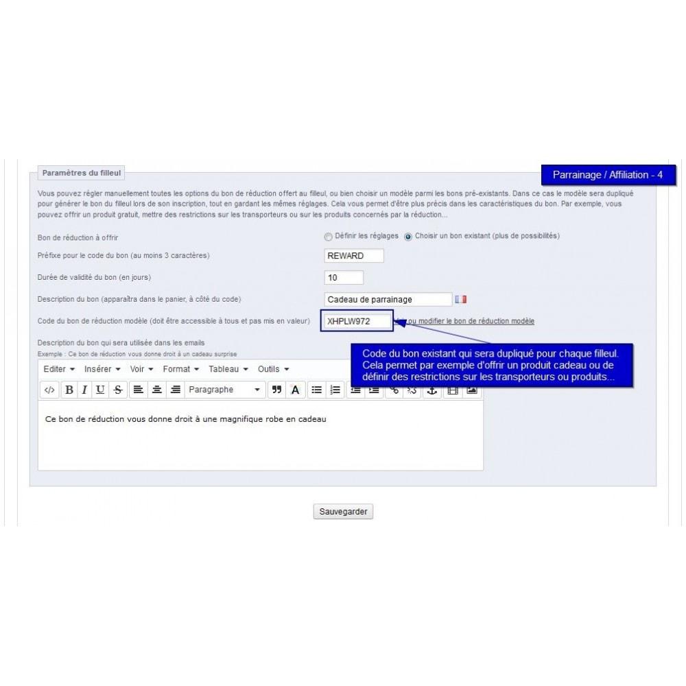 module - Fidélisation & Parrainage - All-in-one Rewards: fidélité parrainage affiliation... - 34