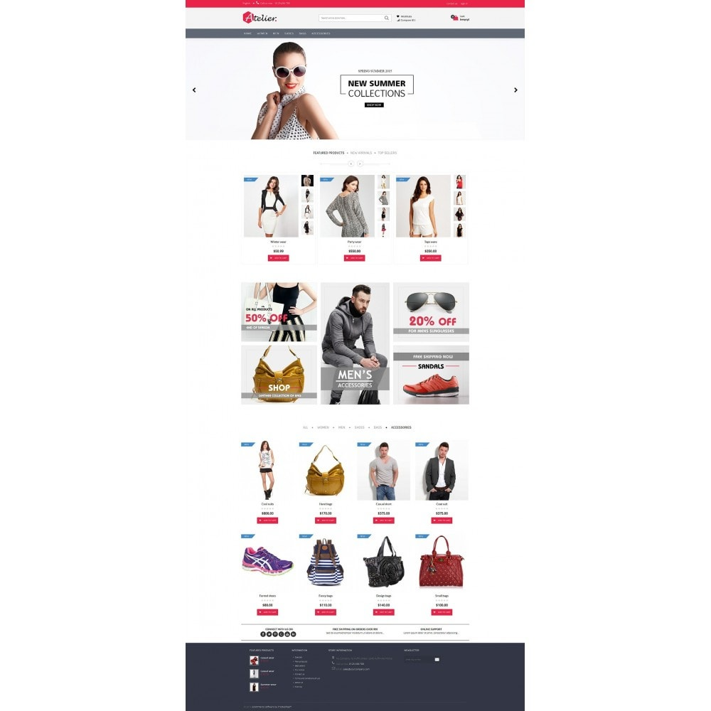 theme - Fashion & Shoes - Atelier Fashion Multipurpose HTML5 - 11