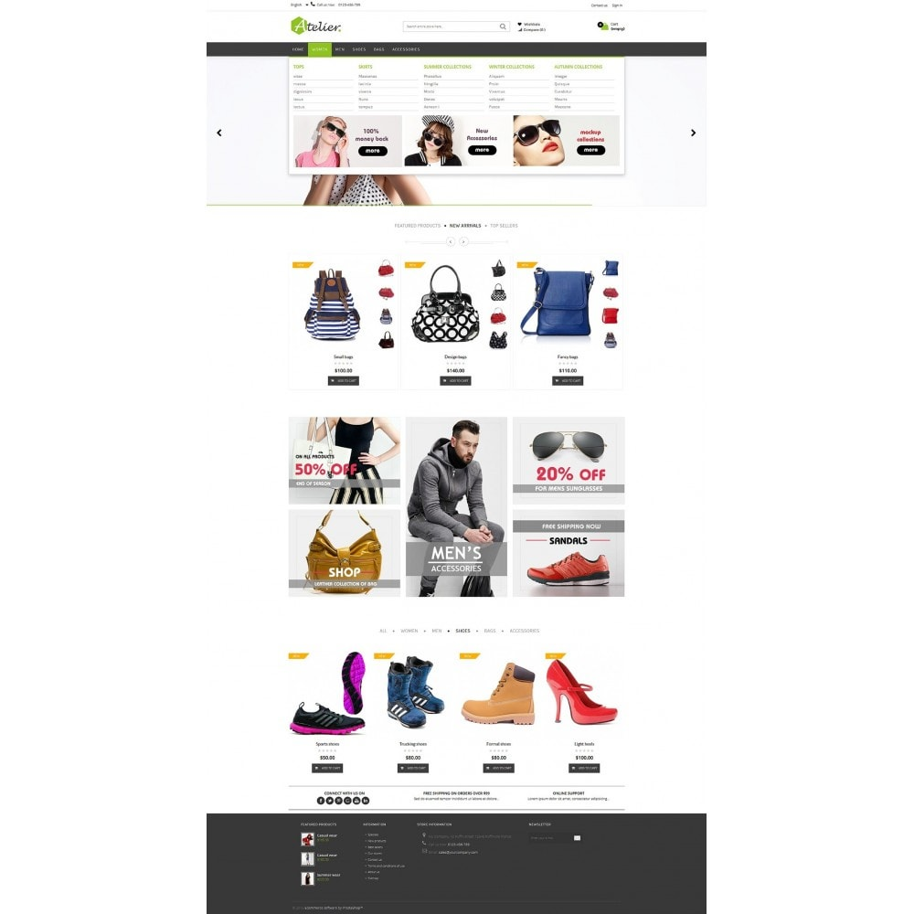 theme - Fashion & Shoes - Atelier Fashion Multipurpose HTML5 - 16