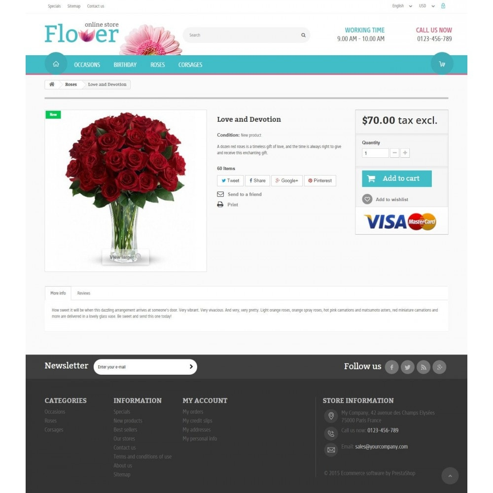 theme - Gifts, Flowers & Celebrations - Flower Online Store 1.6 Responsive - 6