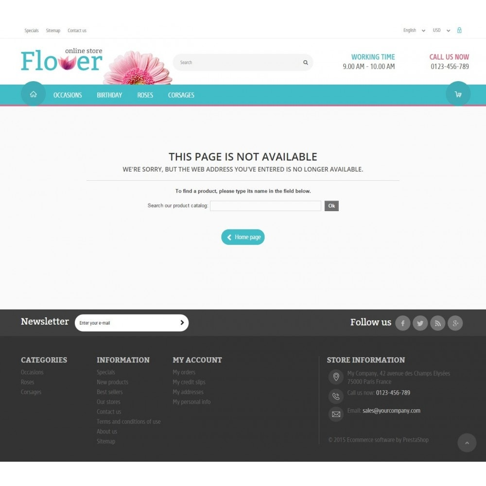 theme - Gifts, Flowers & Celebrations - Flower Online Store 1.6 Responsive - 9