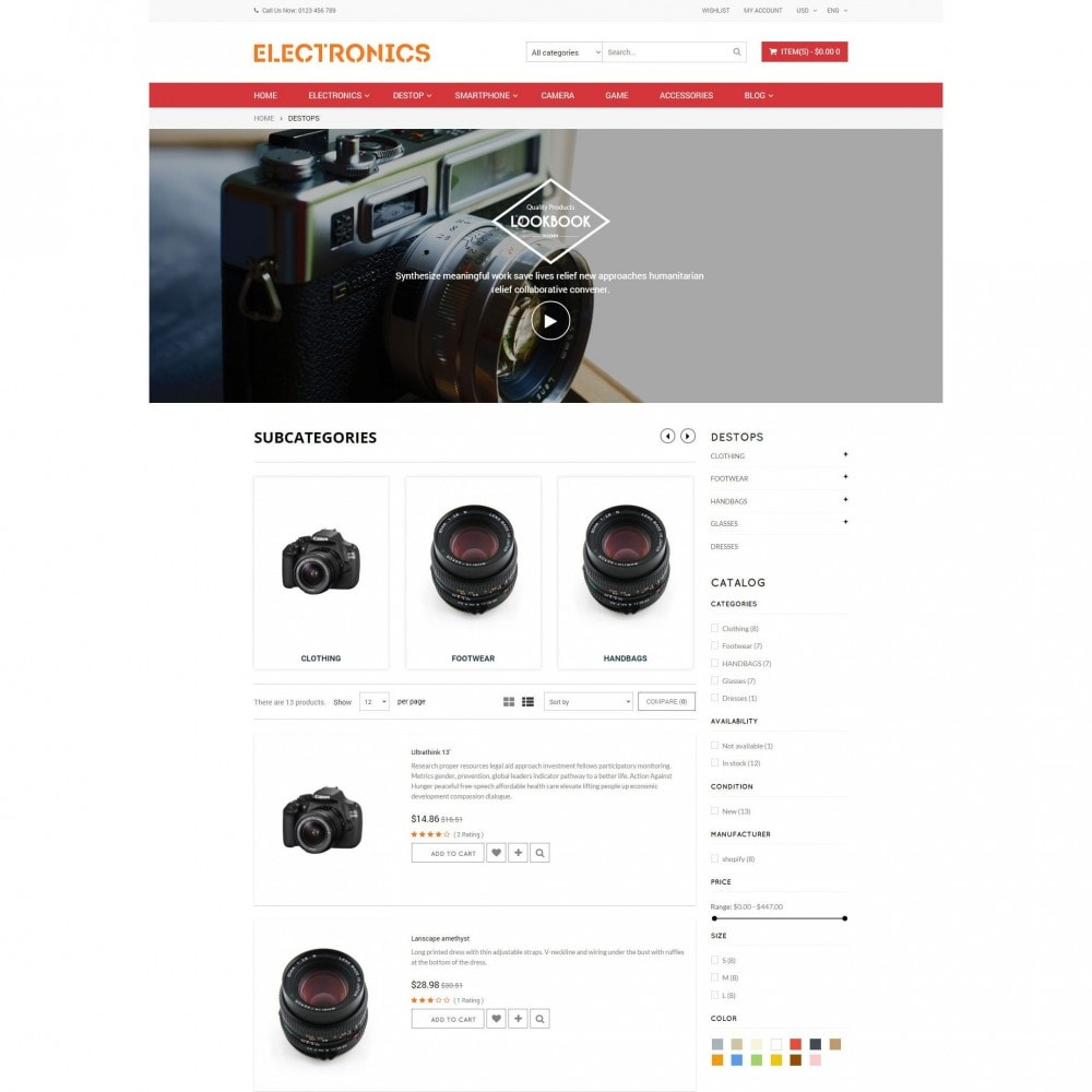 theme - Elektronica & High Tech - Appliances & Electronics Responsive  Store - 5