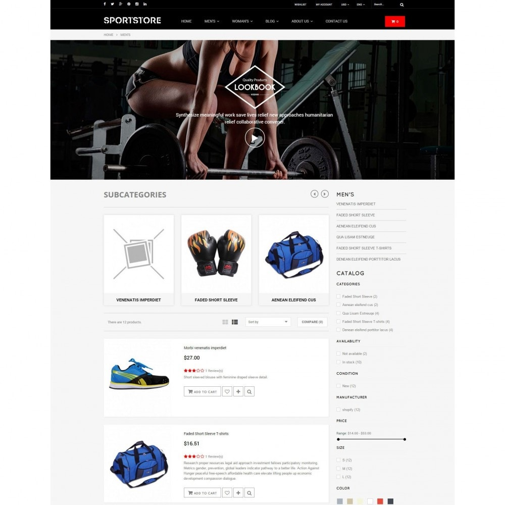 theme - Спорт и Путешествия - Sport Gym & Fitness Responsive Theme - 5