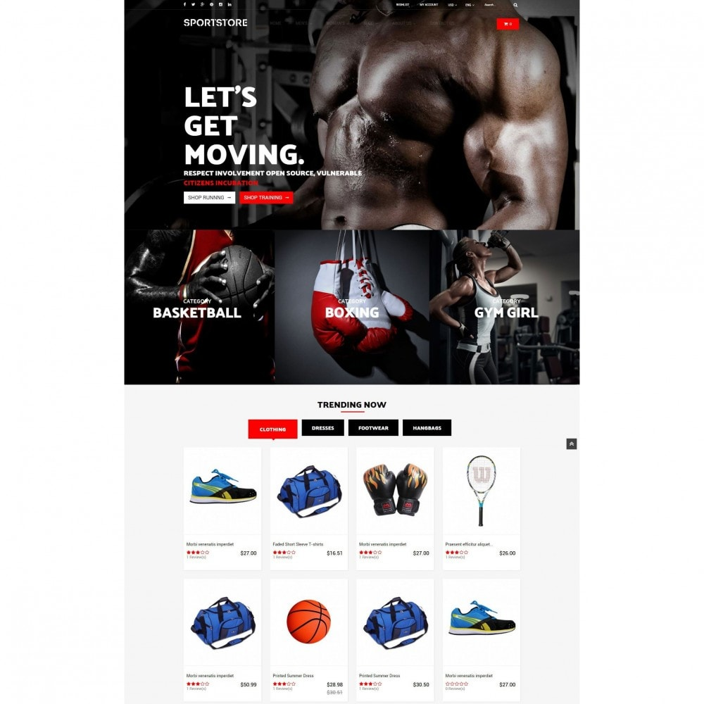 theme - Спорт и Путешествия - Sport Gym & Fitness Responsive Theme - 2