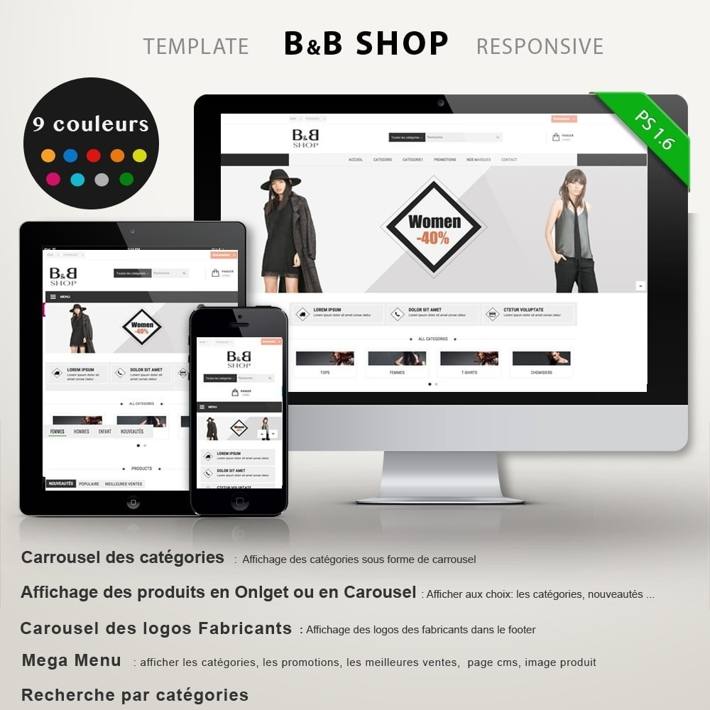 theme - Mode & Chaussures - B&B SHOP - 2