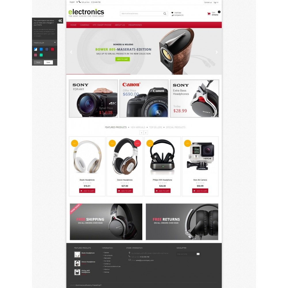 theme - Elektronika & High Tech - Electronics shop - 6