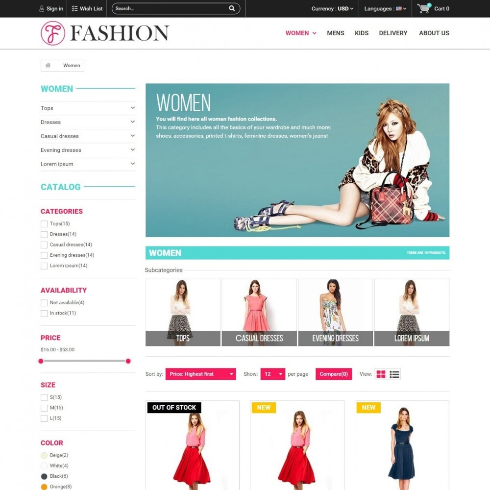 theme - Moda y Calzado - Fashion Style - Сlothes Store - 4