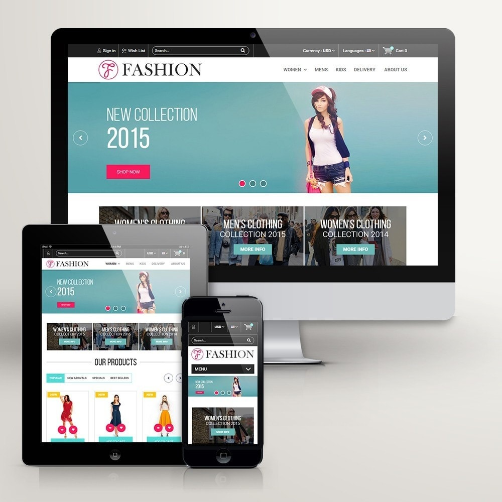 theme - Moda & Calzature - Fashion Style - Сlothes Store - 2