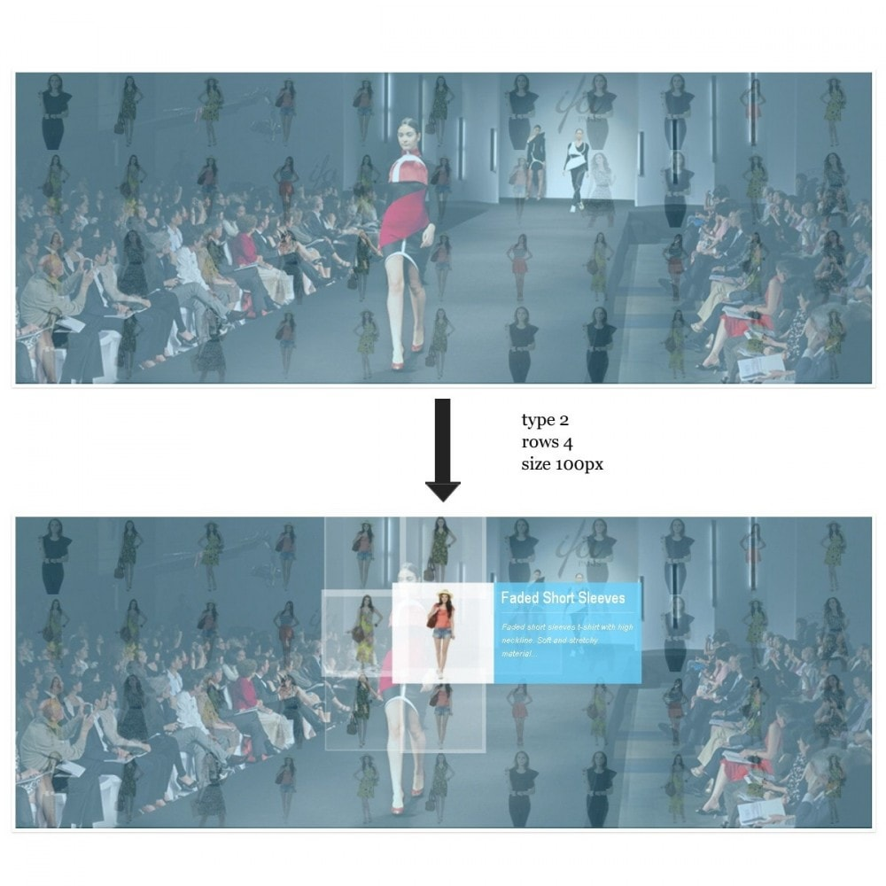 module - Sliders y Galerías de imágenes - Efecto de proximidad - Ideas de presentaciones - 1
