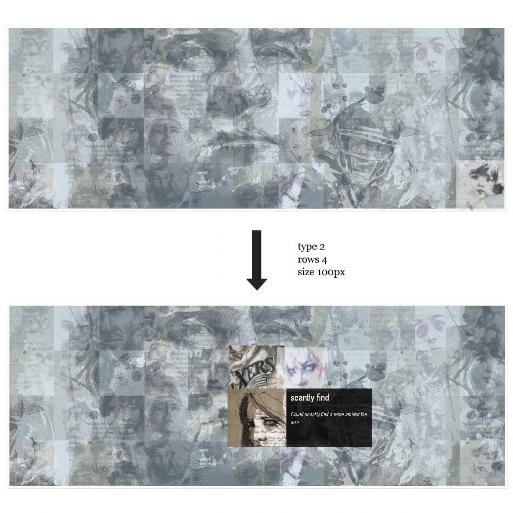 module - Sliders y Galerías de imágenes - Efecto de proximidad - Ideas de presentaciones - 4
