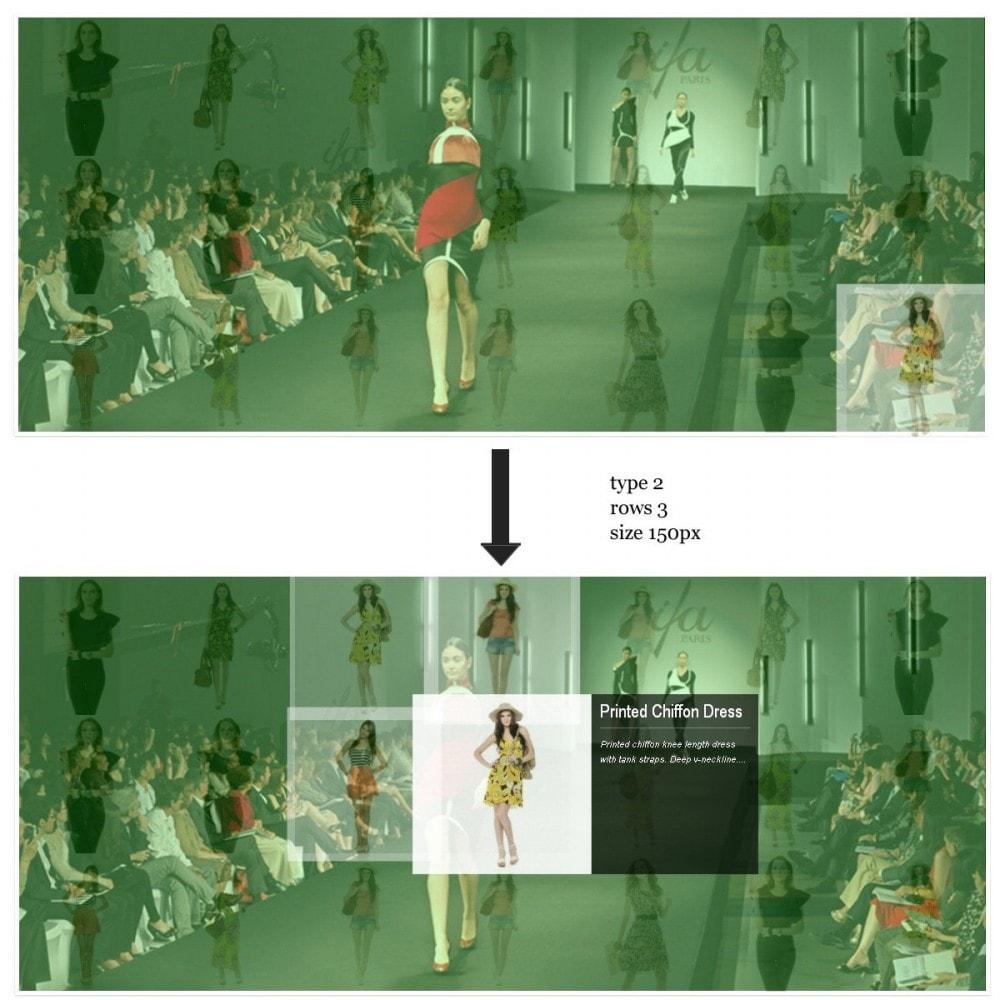 module - Sliders y Galerías de imágenes - Efecto de proximidad - Ideas de presentaciones - 5