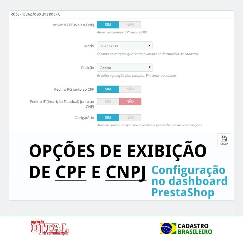 module - Registration & Ordering Process - Brazilian Registration - 4