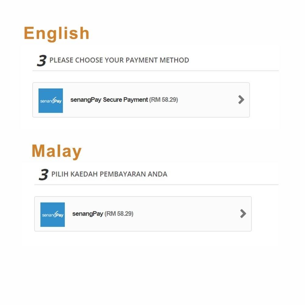 module - Zahlung per Kreditkarte oder Wallet - senangPay - 5