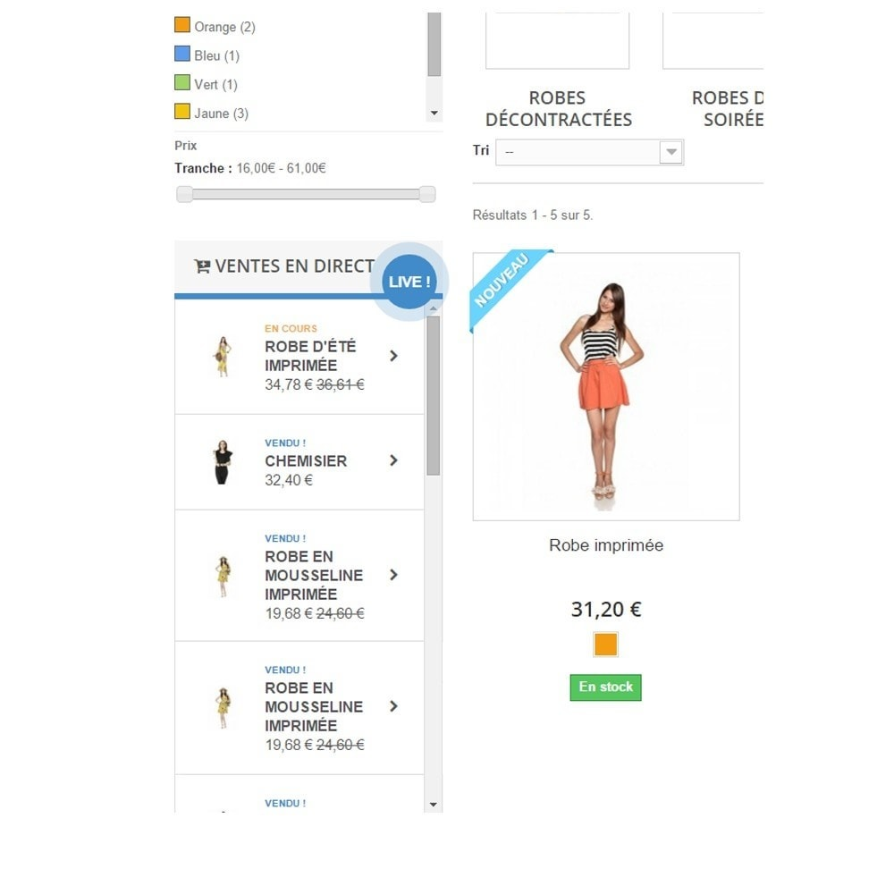 module - Ventes croisées & Packs de produits - Panier et ventes en direct - 2
