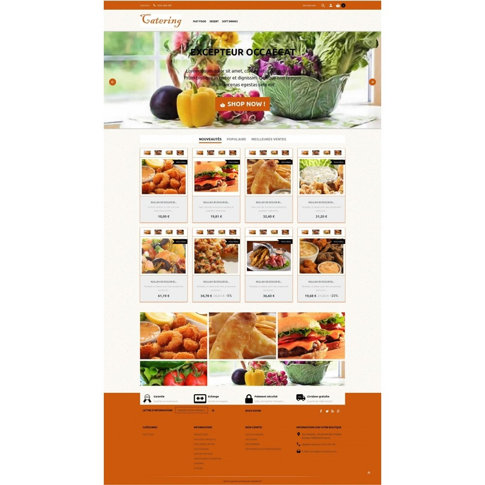 theme - Lebensmittel & Restaurants - Catering - 4