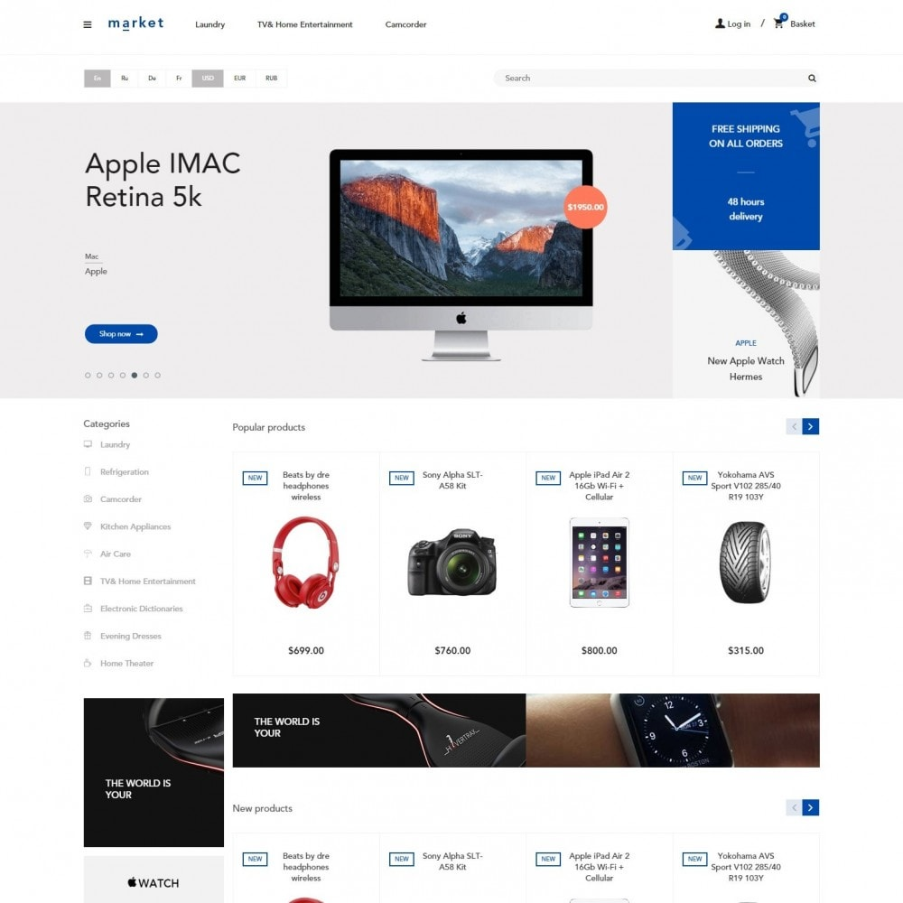 theme - Electronique & High Tech - SuperMarché Boutique - 2